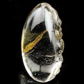 个性特殊包裹体水晶 给我们带来新鲜感的时尚